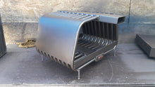 "24RC 24~44W14~24T (36"") RIB CAGE, Double Sided Fireplace Grate Heat Exchanger with Blower"