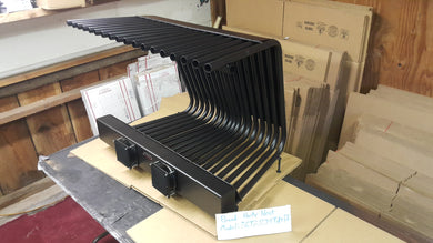 30TGR 14~24TD Tapered Fireplace Grate Heat Exchanger with Blower