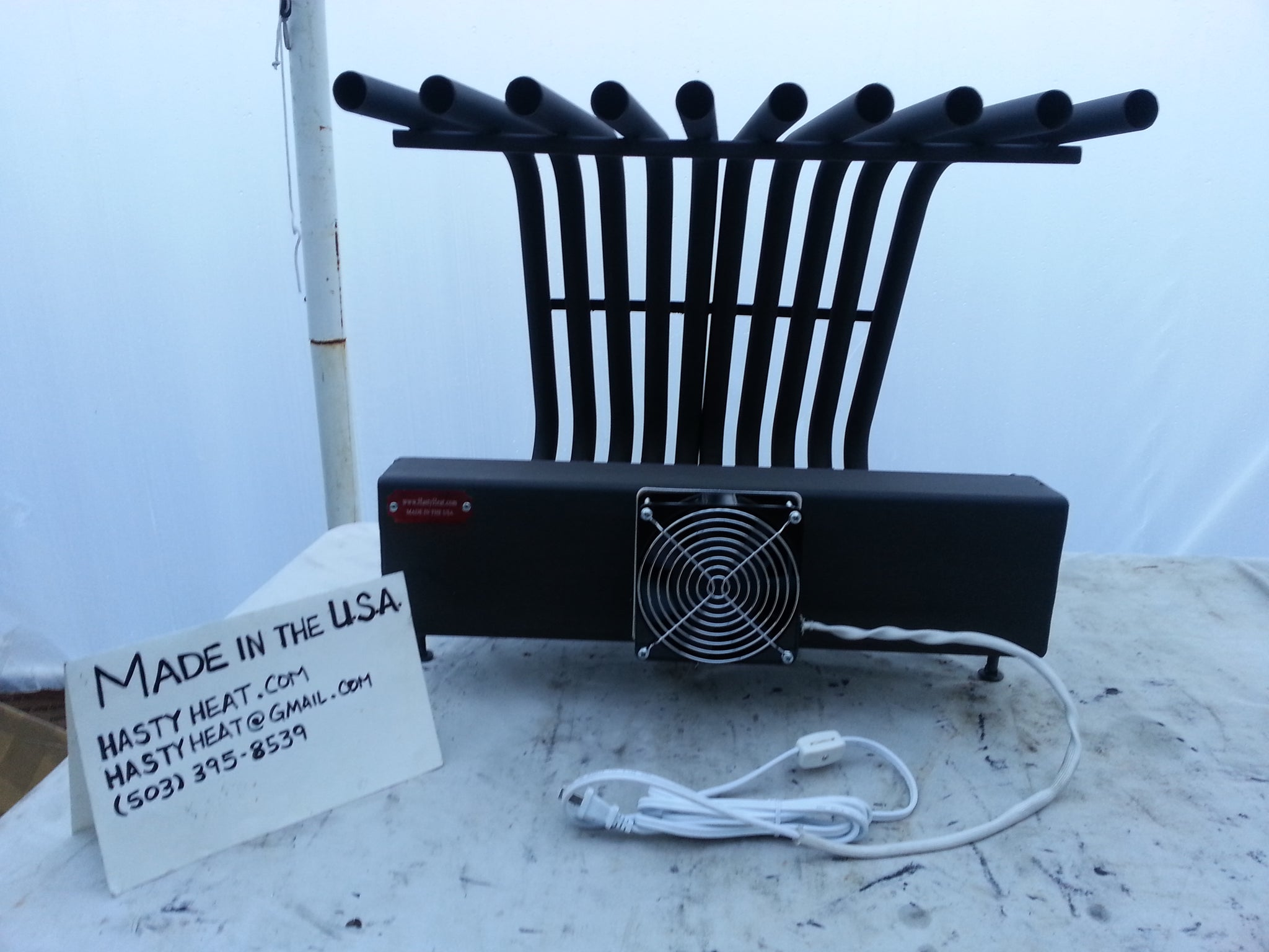 20TGR Tapered Grate Heater, Fireplace Heat Exchanger Fireback Andiron Heatilator Rack Blower Hearth Furnace Electric Wood Gas Pellet Metal Brick
