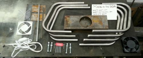 K14GR DIY Fireplace Heat Exchanger Kit