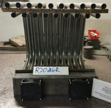 R20DGR RAW Double Row Fireplace Heat Exchanger