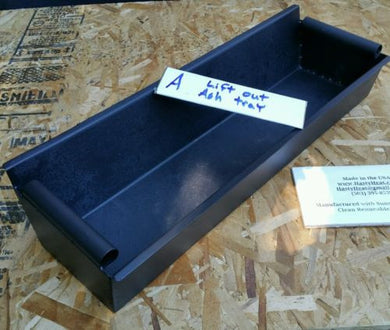 ASH Removable Steel Ash Tray for Heat Exchanger