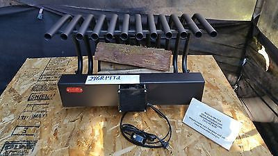 24GR14TD Grate Heater, Fireplace Heat Exchanger Fireback Andiron Heatilator Furnace Blower Log Rack