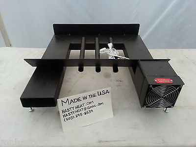 24HTH Hard Times Grate Heater, Fireplace Heat Exchanger Andiron Heatilator Furnace Blower Log Rack