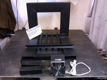 2Q 20W 14 ~ 24TD Cozy Grate Fireplace Heater with Built-In Fire Back