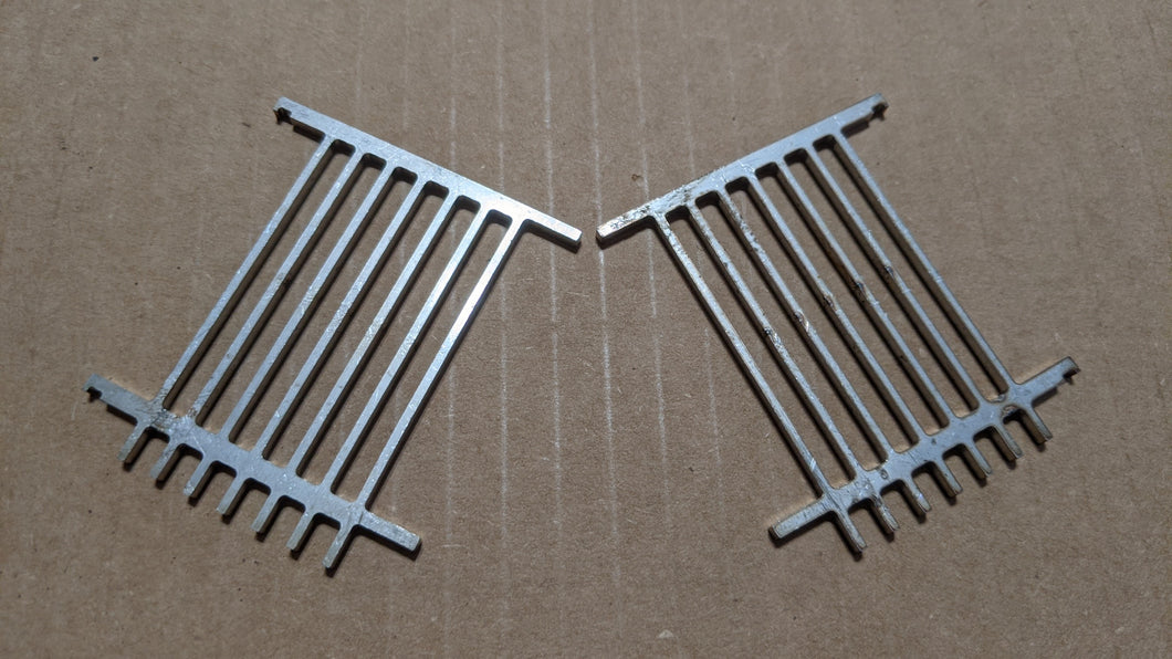 LPG Stainless Steel Laser cut Pellet Grate Replacement (Pair)