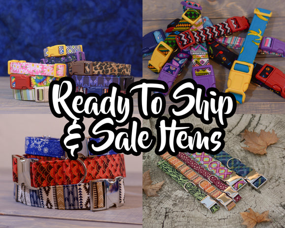 Ready to ship & Sale items