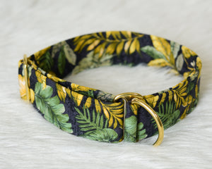 Rustic Leaves Jungle Foliage Collar