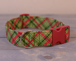 Red Green & Gold Plaid
