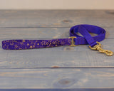 Hybrid Dog Leash - Fabric Handle with a Webbing Base