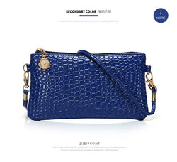 Women PU Leather Day Clutch Shoulder Bag  Crossbody Evening Handbag