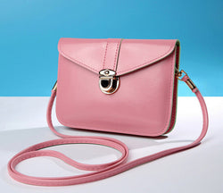 Women messenger bags Vintage style PUsoft leather handbag Cross body Clutch