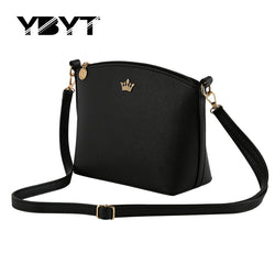 Casual small imperial crown candy color handbags new fashion clutches