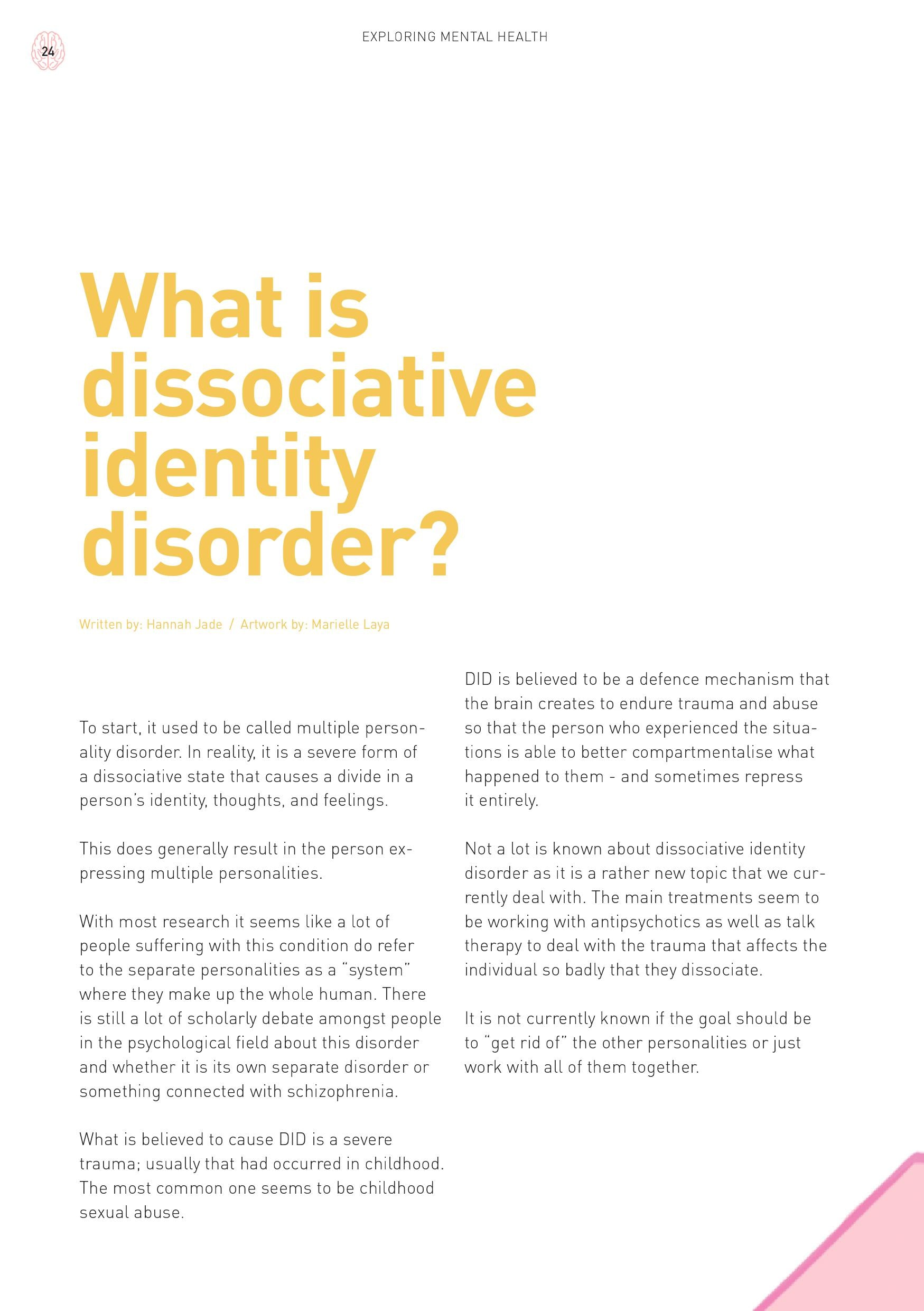 Psych2Go Magazine #15 - Body Dysmorphic disorder (Physical)