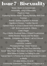 Psych2Go Magazine #7 - Bisexuality Awareness (Physical)