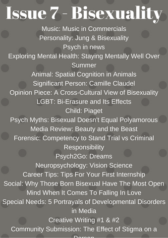 Psych2Go Magazine #7 - Bisexuality Awareness (Digital)