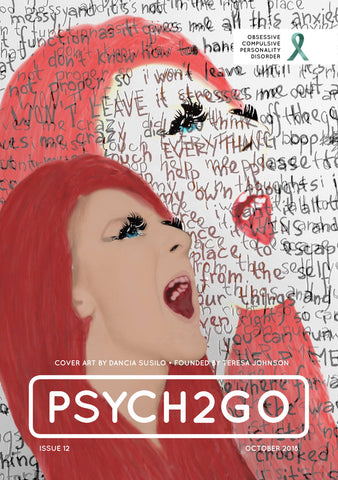 Psych2Go Magazine #12 - Poster (Obsessive Compulsive Personality disorder Awareness)