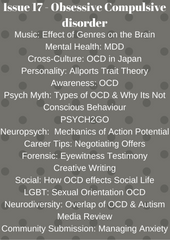 Psych2Go Magazine #17 - Obsessive Compulsive disorder (Physical)