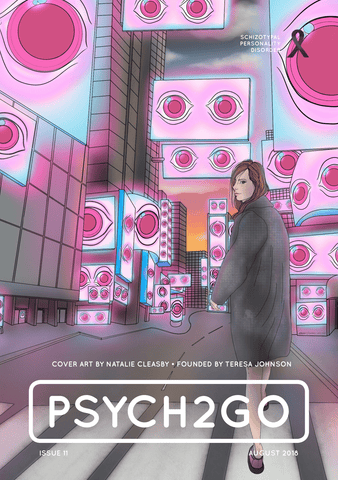 Psych2Go Magazine #11 - Poster (Schizotypal Personality disorder Awareness)