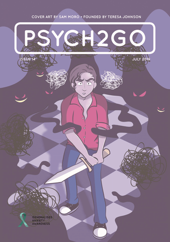 Psych2Go Magazine #14 - Generalised Anxiety disorder (Digital)