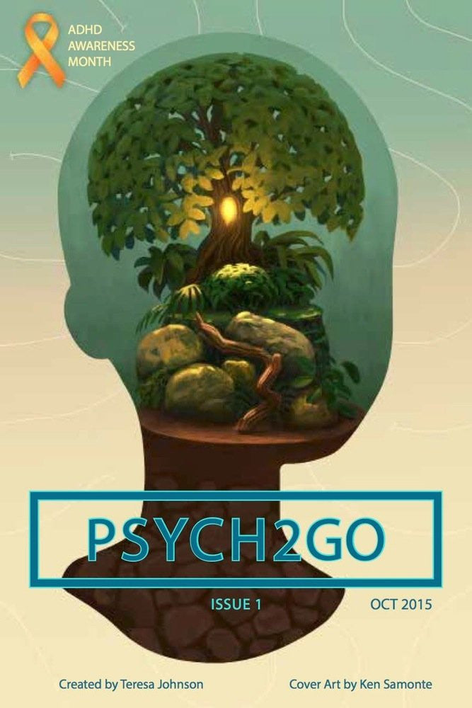 PSYCH2GO Magazine #1-5 - ADHD, Mental Health, Substance Abuse, Social Anxiety & Adoption (Digital)