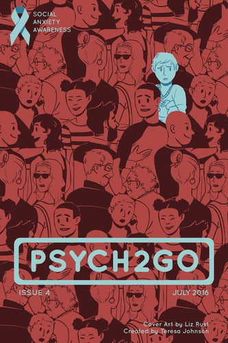 Psych2Go Magazine #4 - Social Anxiety Awareness (Physical)