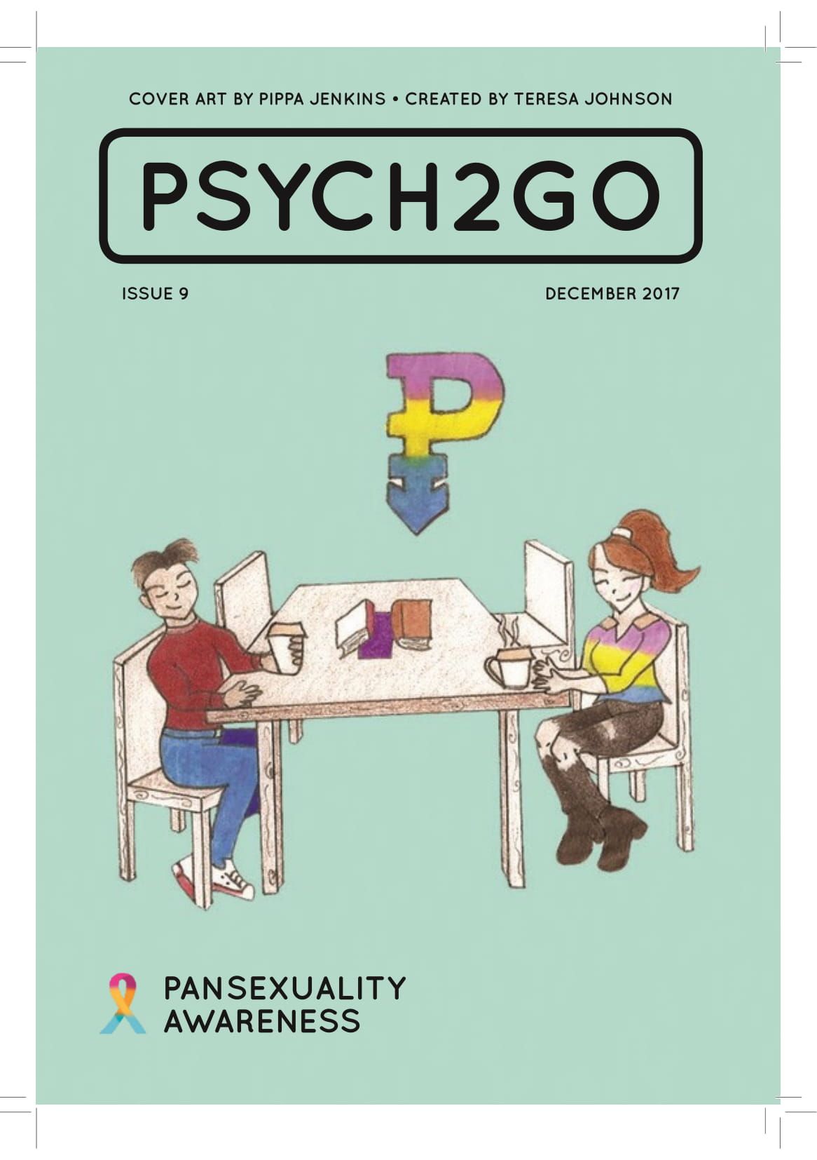 Psych2Go Magazine #9 - Pansexuality Awareness (Digital)