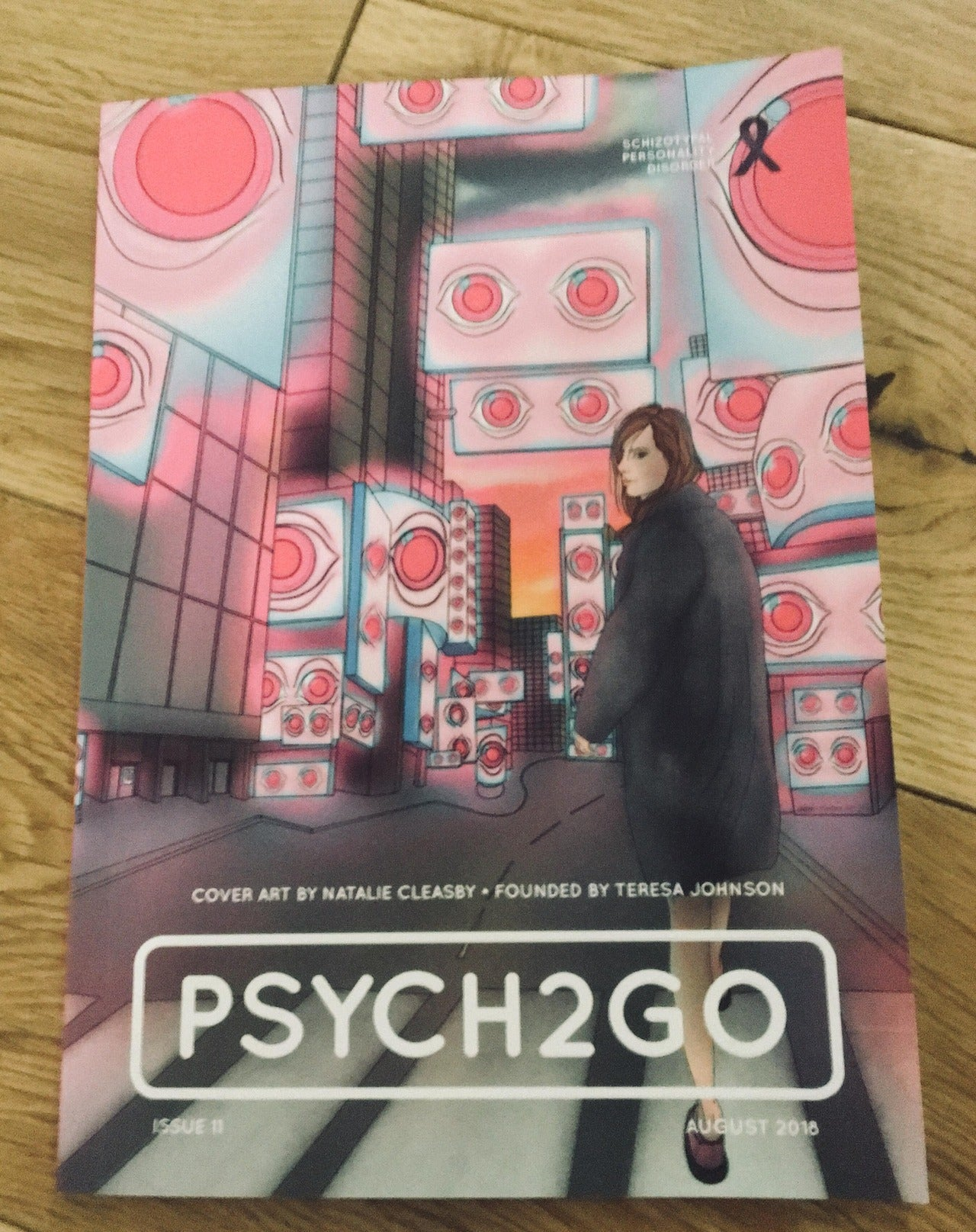 Psych2Go Magazine Quarterly Subscription