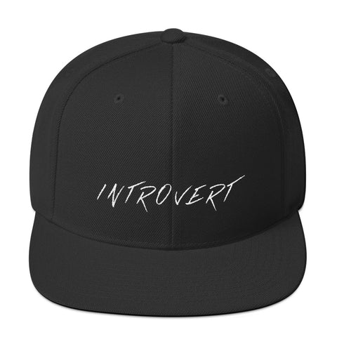 Introvert Snapback Hat