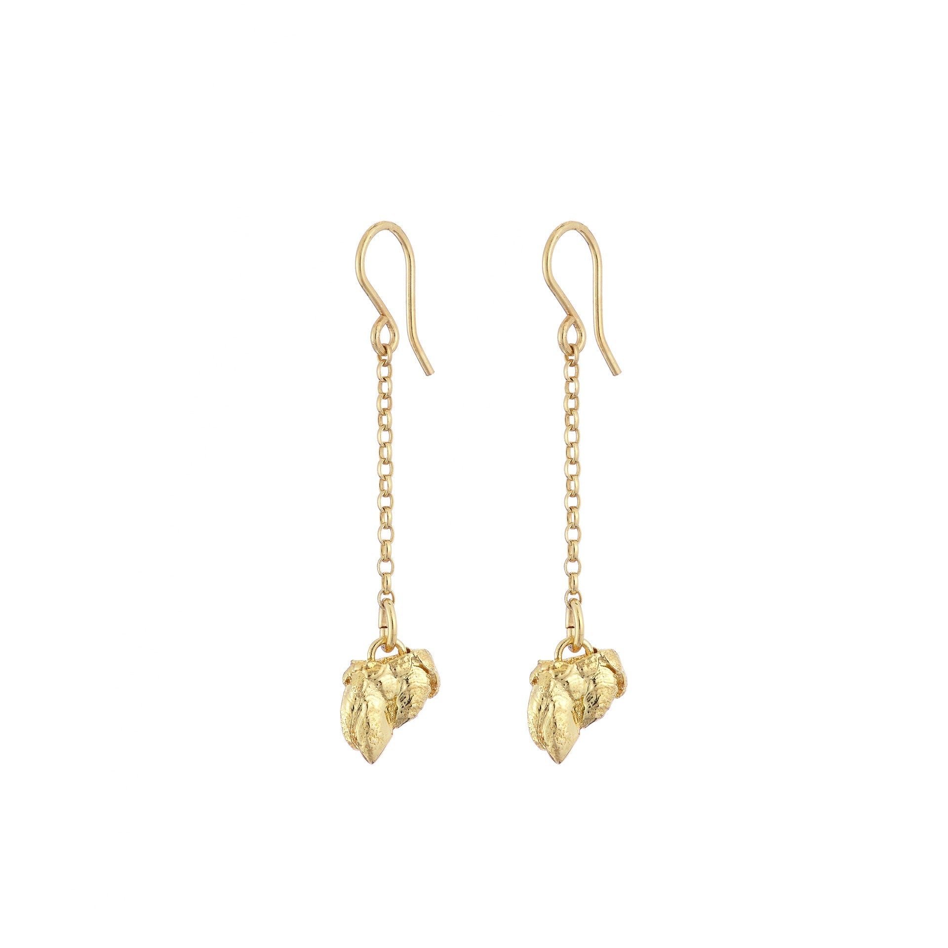 Percebes Shell Earring Small - Gold Plated