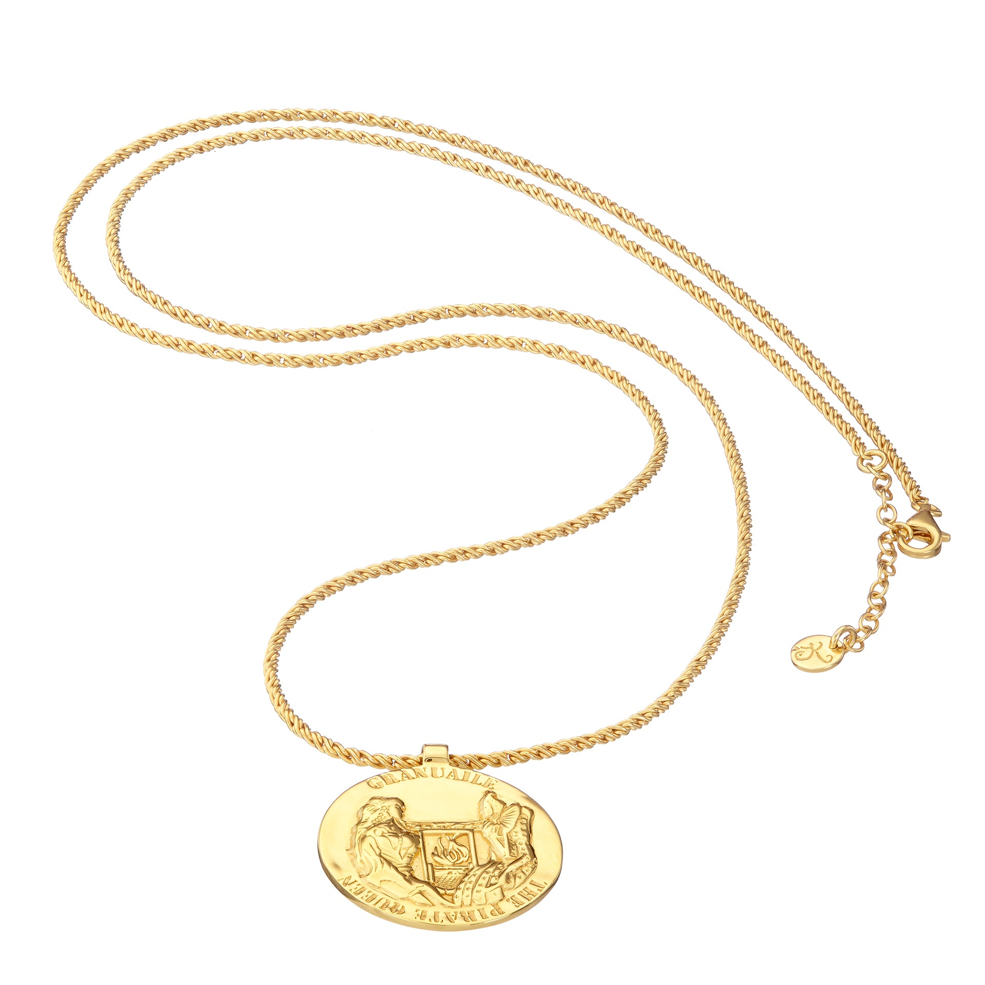 GRACE O'MALLEY Medallion Necklace