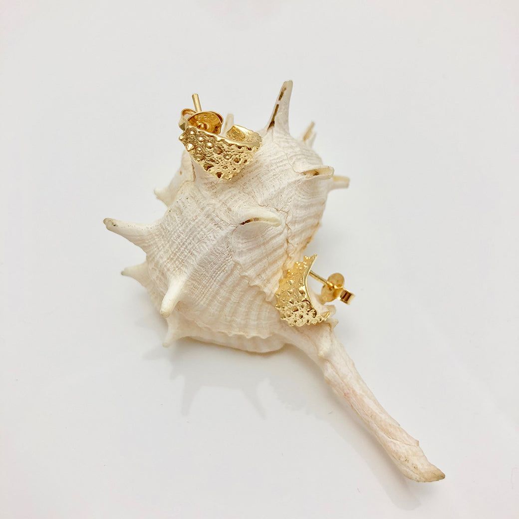SEA URCHIN Wrap Earrings