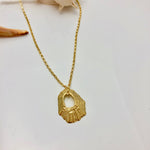 HOLLOW LIMPET SHELL Necklace Small