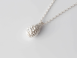 PINE CONE necklace - silver - Jennifer Kinnear Jewellery - charms collection