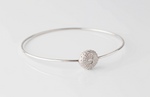 SEA URCHIN bangle - silver - Jennifer Kinnear Jewellery Ocean Collection