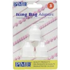 Decorating icing bag adaptors