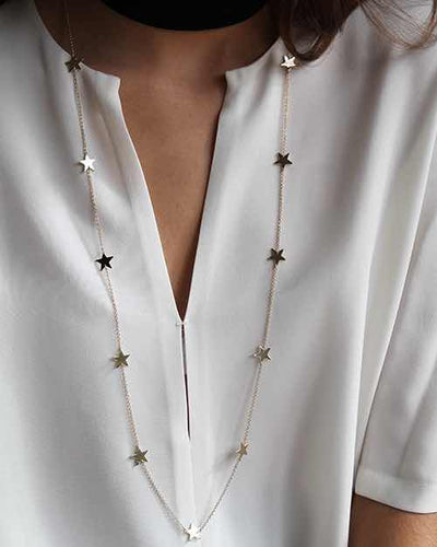 Gold All Star Necklace