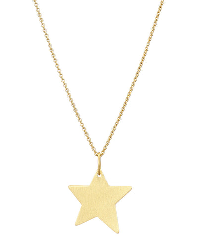 Gold  Shooting Star Necklace