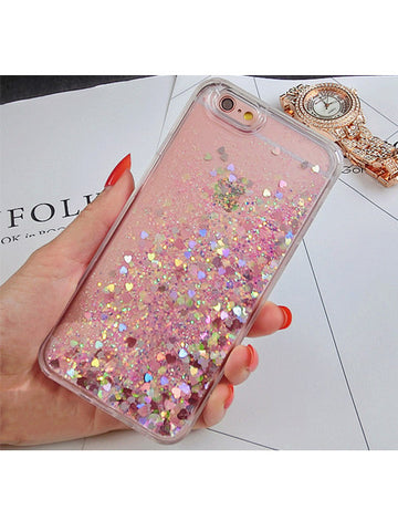 Pink Glitter iPhone Case