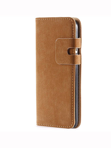 Magnetic Leather Wallet Case for iPhone 5/5s