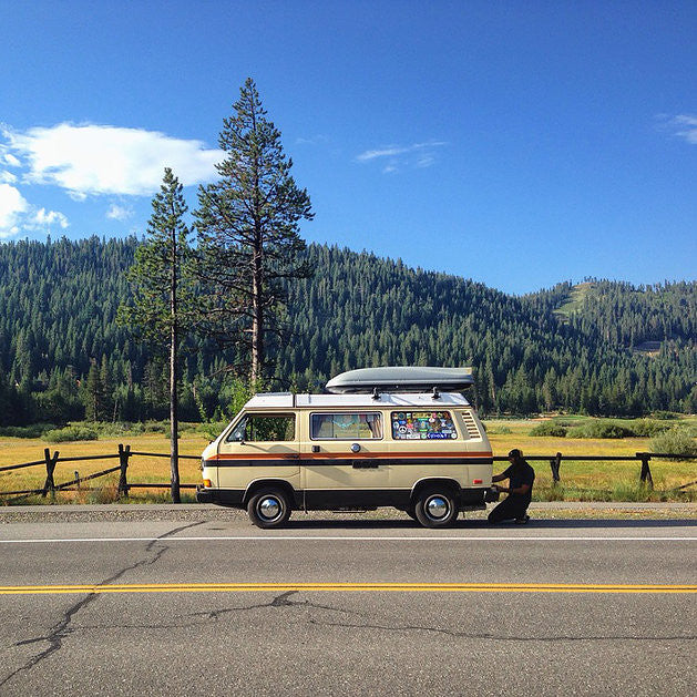 Roll With Hawk And Kenz In A VW Camper - Tiny House Tiny Footprint