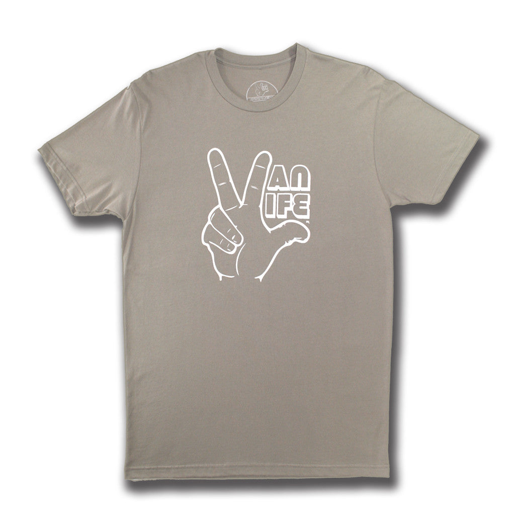 VanLife Hand Tee - Warm Gray