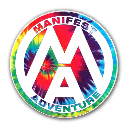 Manifest Adventure Sticker