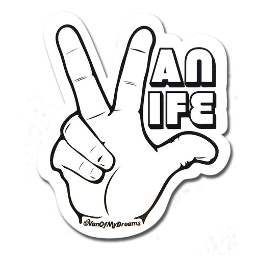 The VanLife Hand Sticker