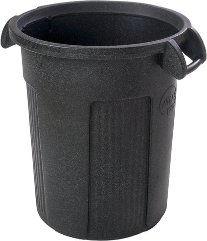 Toter RBR32-R1DGG Atlas Heavy Duty Round Trash Can