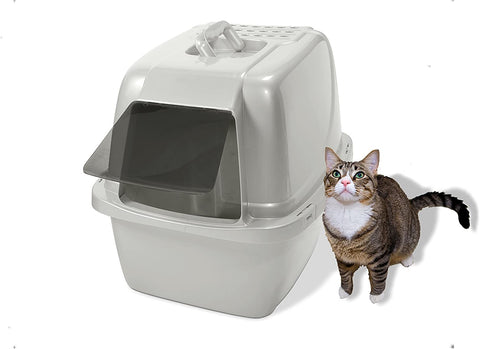 Van Ness Odor Control Large Enclosed Cat Pan with Odor Door
