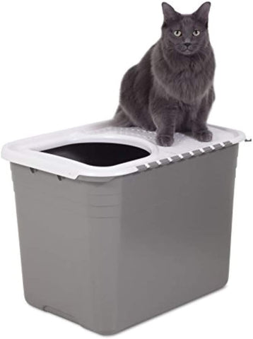 Petmate Top Entry Litter Pan Cat Litter Box