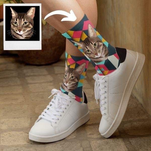 american-wirehair-cat-socks