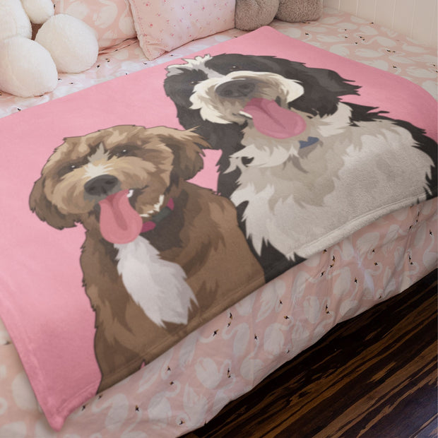 scottish-deerhound-blanket
