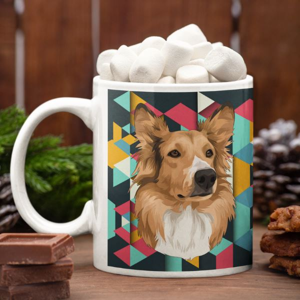 kerry-blue-terrier-mug
